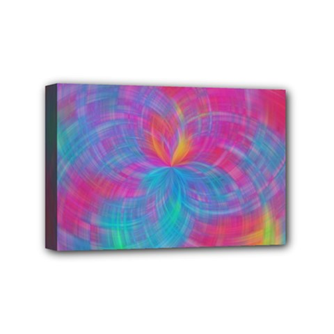 Abstract Fantastic Fractal Gradient Mini Canvas 6  X 4  by BangZart