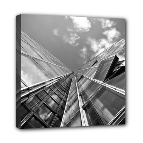 Architecture Skyscraper Mini Canvas 8  X 8  by BangZart