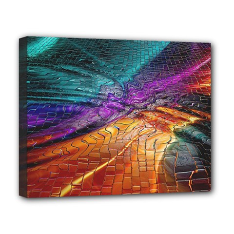 Graphics Imagination The Background Deluxe Canvas 20  X 16   by BangZart