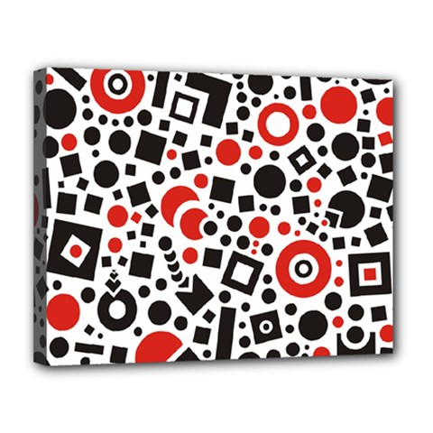Square Objects Future Modern Canvas 14  X 11  by BangZart