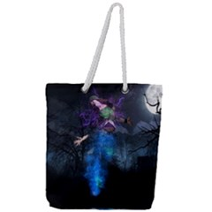 Magical Fantasy Wild Darkness Mist Full Print Rope Handle Tote (large) by BangZart