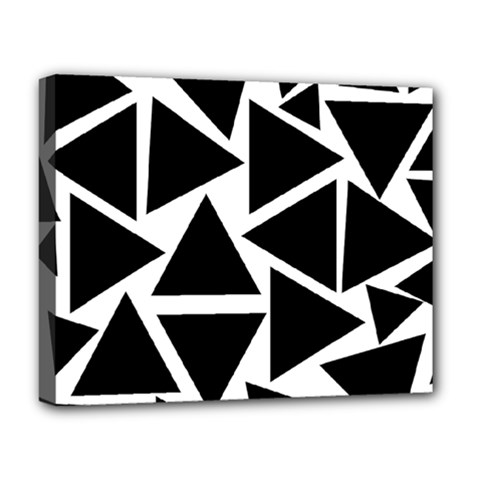 Template Black Triangle Deluxe Canvas 20  X 16   by BangZart
