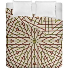 Kaleidoscope Online Triangle Duvet Cover Double Side (california King Size)