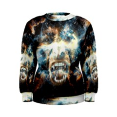 Universe Vampire Star Outer Space Women s Sweatshirt by BangZart