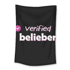 Verified Belieber Small Tapestry by Valentinaart