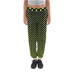 Pattern Halftone Background Dot Women s Jogger Sweatpants by BangZart