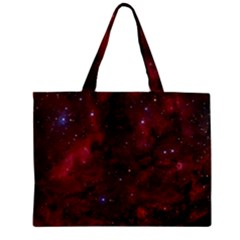 Abstract Fantasy Color Colorful Zipper Mini Tote Bag by BangZart