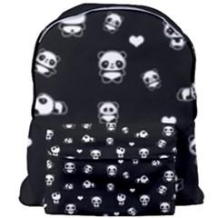 Panda Pattern Giant Full Print Backpack by Valentinaart