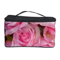 Pink Roses Cosmetic Storage Case by 8fugoso