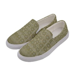 Shooting Stars Over The Sea Of Calm Women s Canvas Slip Ons by pepitasart
