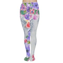 Flower Girl Women s Tights by 8fugoso
