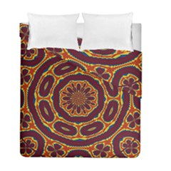 Geometric Tapestry Duvet Cover Double Side (full/ Double Size) by linceazul