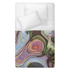 Retro Background Colorful Hippie Duvet Cover (single Size) by Celenk