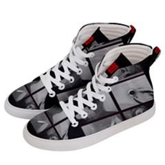 Psycho  Men s Hi Top Skate Sneakers by Valentinaart