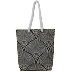 Art Nouveau Full Print Rope Handle Tote (small) by 8fugoso