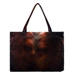 Monster Demon Devil Scary Horror Medium Tote Bag by Celenk