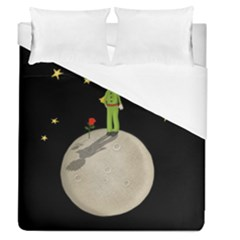The Little Prince Duvet Cover (queen Size) by Valentinaart