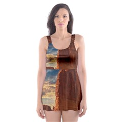 Bryce Canyon Usa Canyon Bryce Skater Dress Swimsuit by Celenk