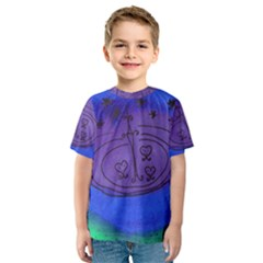 Starry Egg Kids  Sport Mesh Tee by snowwhitegirl