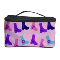 Candy Boots Cosmetic Storage Case by snowwhitegirl