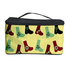 Yellow Boots Cosmetic Storage Case by snowwhitegirl