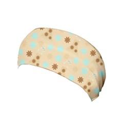 Beige Dress Yoga Headband by snowwhitegirl
