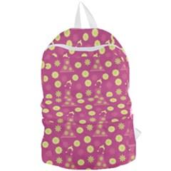 Yellow Flowers Dress Foldable Lightweight Backpack by snowwhitegirl