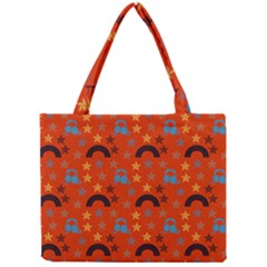Music Stars Red Mini Tote Bag by snowwhitegirl
