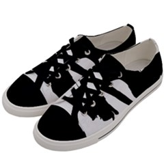 Pole Dancer Silhouette Men s Low Top Canvas Sneakers by Jojostore