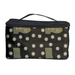 Charcoal Boots Cosmetic Storage Case by snowwhitegirl