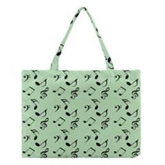 Mint Green Music Medium Tote Bag by snowwhitegirl