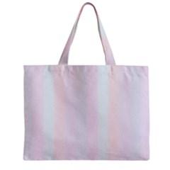 Albino Pinks Zipper Mini Tote Bag