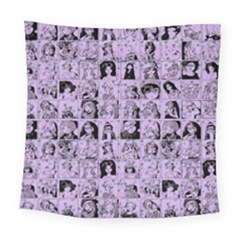 Lilac Yearbok Square Tapestry (large) by snowwhitegirl