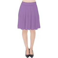 Another Purple Velvet High Waist Skirt by snowwhitegirl