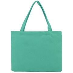 Seafoamy Green Mini Tote Bag by snowwhitegirl