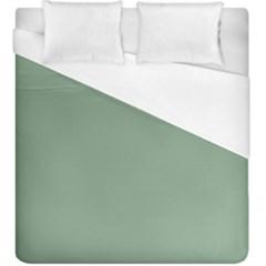 Mossy Green Duvet Cover (king Size) by snowwhitegirl