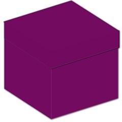 Magenta Ish Purple Storage Stool 12   by snowwhitegirl