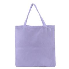 Violet Sweater Grocery Tote Bag by snowwhitegirl
