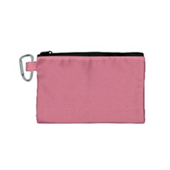 Rosey Canvas Cosmetic Bag (small) by snowwhitegirl