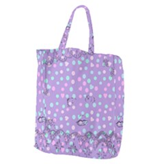 Little Face Giant Grocery Zipper Tote by snowwhitegirl