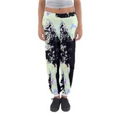 Mint Wall Women s Jogger Sweatpants by snowwhitegirl