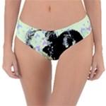 Mint Wall Reversible Classic Bikini Bottoms