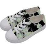 Mint Wall Kids  Low Top Canvas Sneakers