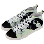 Mint Wall Men s Mid-Top Canvas Sneakers