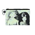 Mint Wall Canvas Cosmetic Bag (Medium)