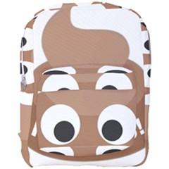 Poo Happens Full Print Backpack by Vitalitee