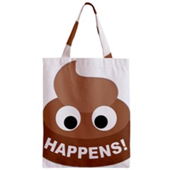 Poo Happens Classic Tote Bag by Vitalitee