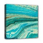 Mint,gold,marble,nature,stone,pattern,modern,chic,elegant,beautiful,trendy Multi Function Bag