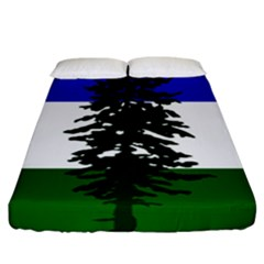 Flag Of Cascadia Fitted Sheet (california King Size) by abbeyz71