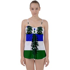 Flag Of Cascadia Babydoll Tankini Set by abbeyz71